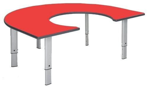 Height Adjustable Rainbow Table